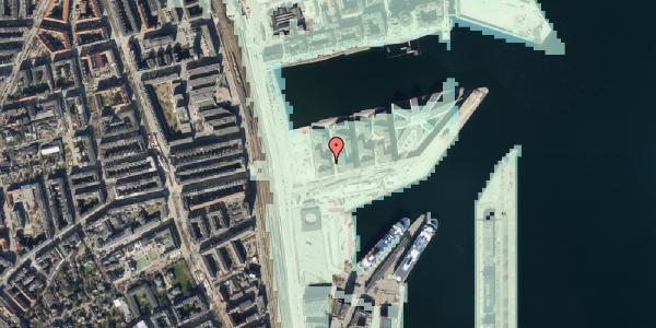 Stomflod og havvand på Marmorvej 9A, 3. th, 2100 København Ø