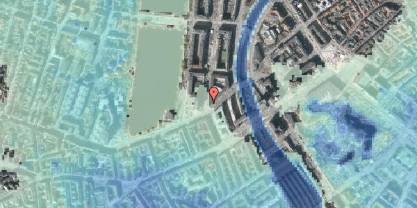 Stomflod og havvand på Nyropsgade 51, 2. , 1602 København V