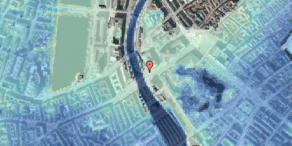 Stomflod og havvand på Vesterbrogade 6A, 16. , 1620 København V