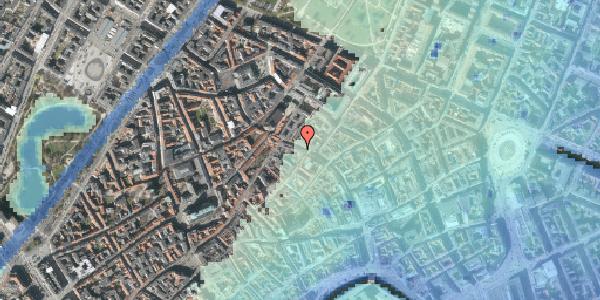 Stomflod og havvand på Købmagergade 41, 1. , 1150 København K