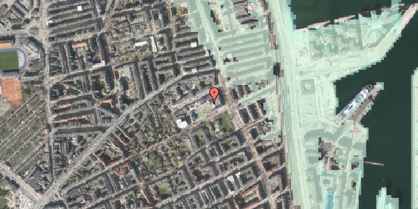 Stomflod og havvand på Rosenvængets Hovedvej 41, 2100 København Ø