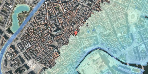 Stomflod og havvand på Klosterstræde 1, 1. , 1157 København K