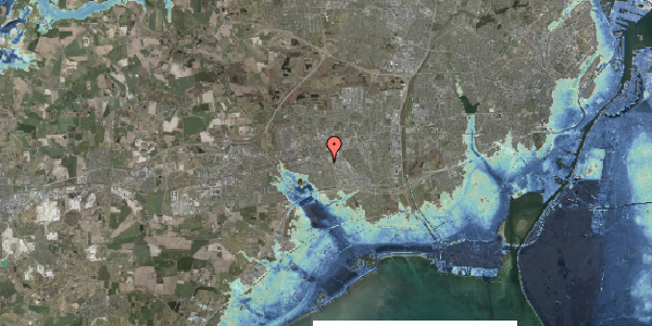 Stomflod og havvand på Grønkløvervænget 34, 2625 Vallensbæk