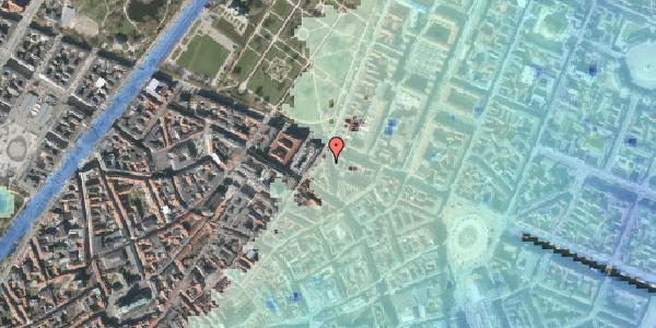 Stomflod og havvand på Christian IX's Gade 7, 1. tv, 1111 København K