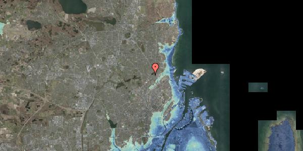 Stomflod og havvand på Emdrupvej 91, 2100 København Ø