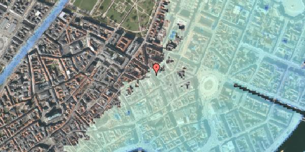 Stomflod og havvand på Gammel Mønt 9, st. , 1117 København K