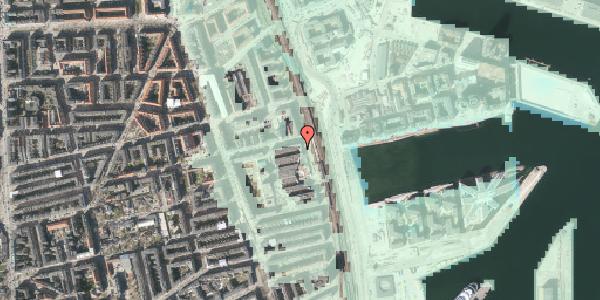 Stomflod og havvand på Østbanegade 131, 2100 København Ø