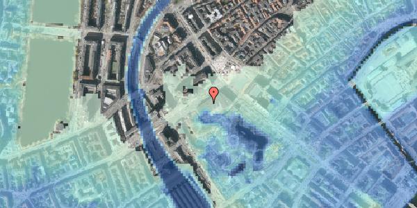 Stomflod og havvand på Vesterbrogade 1E, 4. , 1620 København V