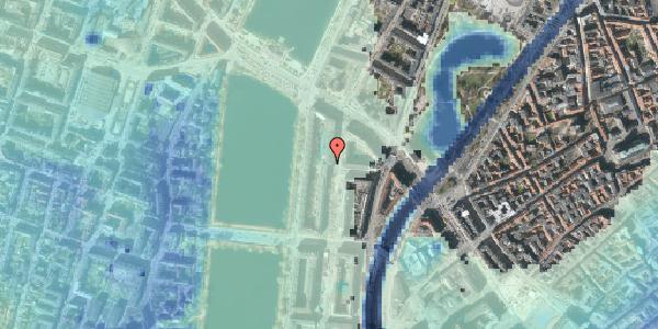 Stomflod og havvand på Nyropsgade 14, 1602 København V