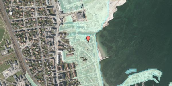Stomflod og havvand på Strandpromenaden 69, 3. , 2100 København Ø