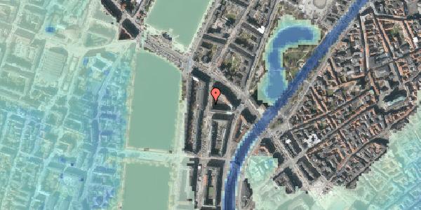 Stomflod og havvand på Nyropsgade 5, 1602 København V