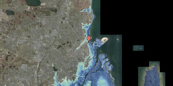 Stomflod og havvand på Svanemøllens Kaserne 5, 2. 210, 2100 København Ø