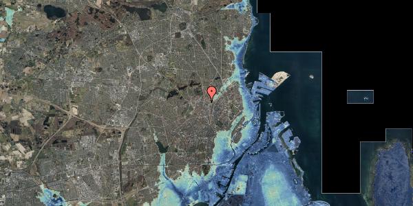 Stomflod og havvand på Bygmestervej 1B, 3. tv, 2400 København NV