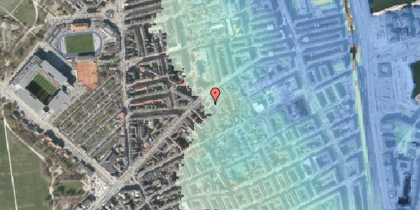 Stomflod og havvand på A.L. Drewsens Vej 15, 2100 København Ø