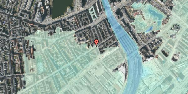 Stomflod og havvand på Istedgade 16, 1650 København V