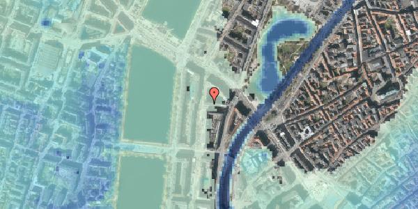 Stomflod og havvand på Dahlerupsgade 6, 1603 København V