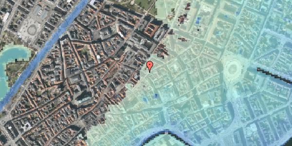 Stomflod og havvand på Købmagergade 36, 1150 København K