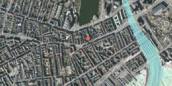 Stomflod og havvand på Vesterbrogade 34, 3. tv, 1620 København V