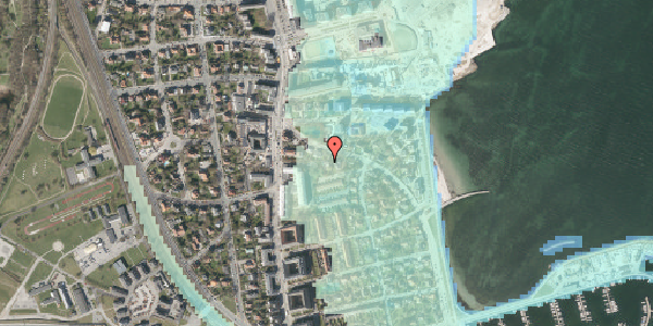 Stomflod og havvand på Strandøre 8A, 2100 København Ø