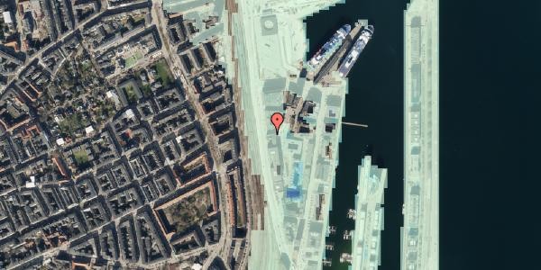 Stomflod og havvand på Amerika Plads 19, 3. , 2100 København Ø