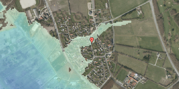 Stomflod og havvand på Bygaden 29, 2625 Vallensbæk