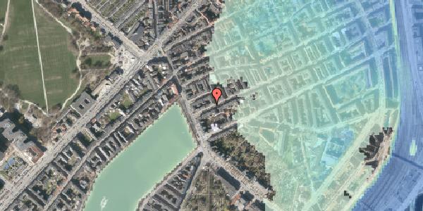 Stomflod og havvand på Willemoesgade 7, 2100 København Ø