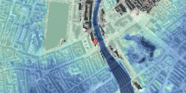 Stomflod og havvand på Meldahlsgade 2, 5. , 1613 København V