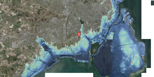 Stomflod og havvand på Hf. Kettehøj 121, 2650 Hvidovre