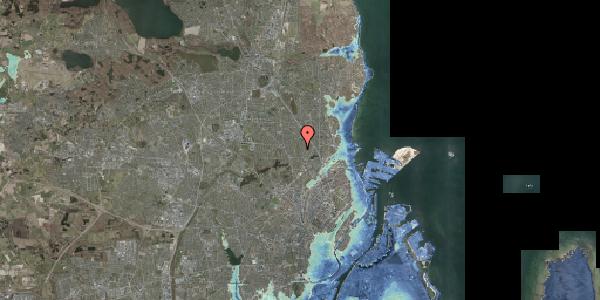 Stomflod og havvand på Rødhalsgangen 18, 2400 København NV