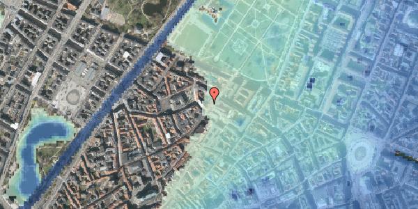 Stomflod og havvand på Landemærket 27, 1119 København K