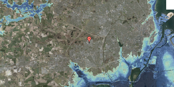 Stomflod og havvand på Naverland 22B, 1. , 2600 Glostrup