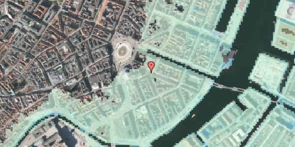 Stomflod og havvand på Heibergsgade 11, 1056 København K