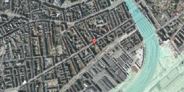 Stomflod og havvand på Istedgade 29A, 1. th, 1650 København V