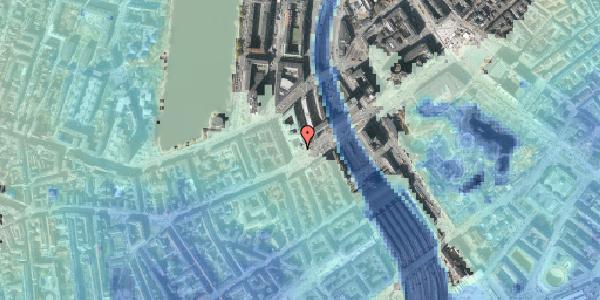 Stomflod og havvand på Vesterbrogade 8, 1. , 1620 København V