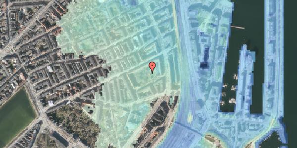 Stomflod og havvand på Arendalsgade 6C, 2100 København Ø