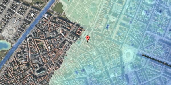 Stomflod og havvand på Møntergade 16A, 1116 København K