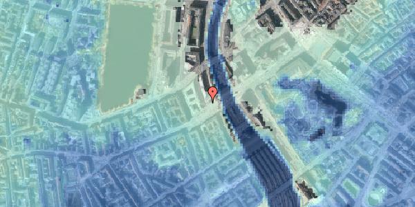 Stomflod og havvand på Meldahlsgade 2, 7. , 1613 København V