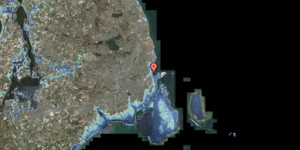 Stomflod og havvand på Svanemøllens Kaserne 75B, 2100 København Ø