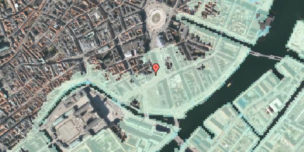 Stomflod og havvand på Holmens Kanal 12, 1060 København K