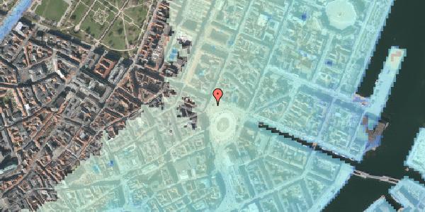 Stomflod og havvand på Kongens Nytorv 16F, 1050 København K