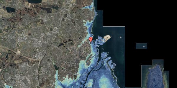Stomflod og havvand på Nygårdsvej 30B, 2. , 2100 København Ø