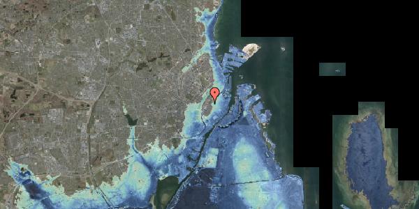 Stomflod og havvand på Gothersgade 126, 1123 København K