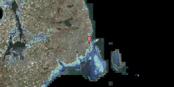 Stomflod og havvand på Emblasgade 1, 1. 105, 2100 København Ø