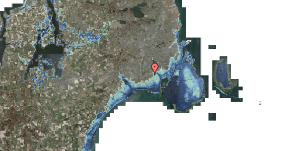 Stomflod og havvand på Kettevej 7, 2650 Hvidovre
