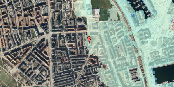 Stomflod og havvand på Svendborggade 1, 5. 516, 2100 København Ø