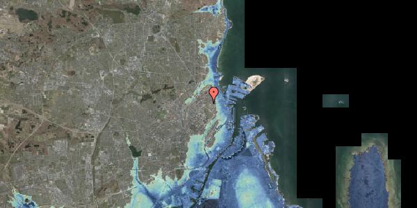 Stomflod og havvand på Serridslevvej 45, 2100 København Ø