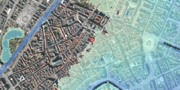 Stomflod og havvand på Købmagergade 37, 1150 København K