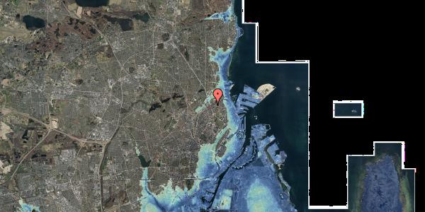 Stomflod og havvand på Venøgade 4, 2. 6, 2100 København Ø