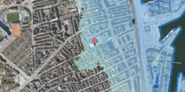 Stomflod og havvand på Rosenvængets Hovedvej 33, kl. , 2100 København Ø