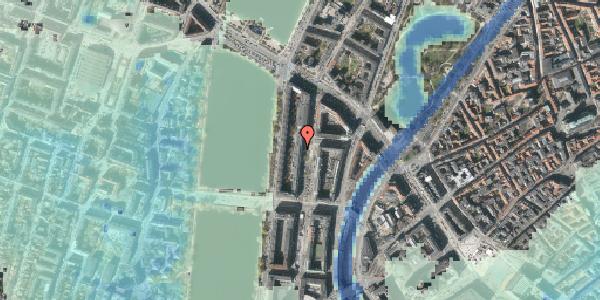 Stomflod og havvand på Nyropsgade 20, kl. , 1602 København V